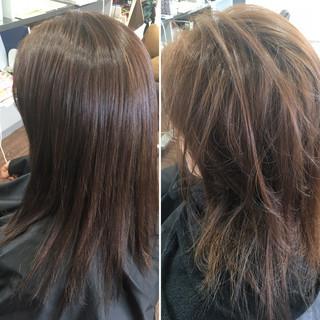 髪質改善トリートメント 髪質改善カラー 髪質改善 ナチュラル ヘアスタイルや髪型の写真・画像 ヘアスタイルや髪型の写真・画像