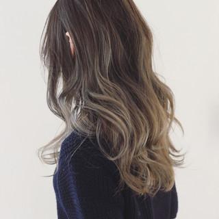 外国人風カラー ロング モード 抜け感 ヘアスタイルや髪型の写真・画像
