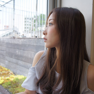 デート サラサラ オフィス 春スタイル ヘアスタイルや髪型の写真・画像 ヘアスタイルや髪型の写真・画像