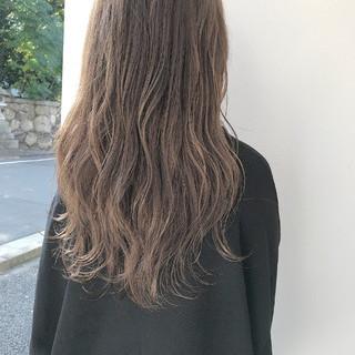 秋 透明感 ロング ハイライト ヘアスタイルや髪型の写真・画像 ヘアスタイルや髪型の写真・画像