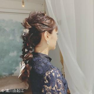 デート ゆるふわ ロング フェミニン ヘアスタイルや髪型の写真・画像