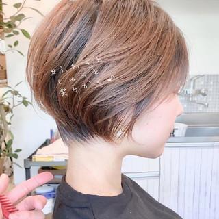 アンニュイほつれヘア パーティー フェミニン ショート ヘアスタイルや髪型の写真・画像