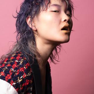 ウルフパーマ ネオウルフ ウルフ女子 ショート ヘアスタイルや髪型の写真・画像