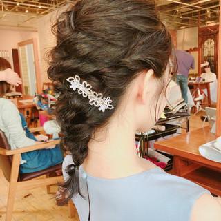 GARDEN 森紫織さんのヘアスナップ