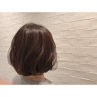 ヘアアレンジ 巻き髪 ショートボブ ナチュラル ヘアスタイルや髪型の写真・画像