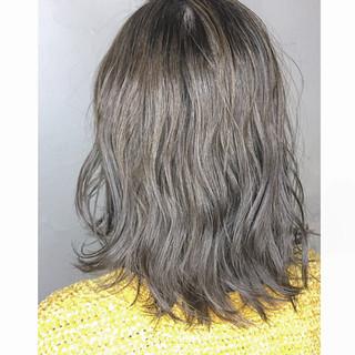 ナチュラル 外国人風 ミディアム モテ髪 ヘアスタイルや髪型の写真・画像