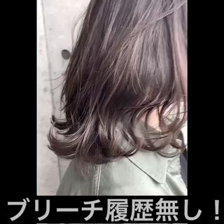 ナチュラル 透明感 透明感カラー グラデーションカラー ヘアスタイルや髪型の写真・画像