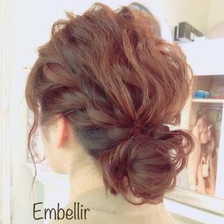 愛され モテ髪 簡単ヘアアレンジ ヘアアレンジ ヘアスタイルや髪型の写真・画像