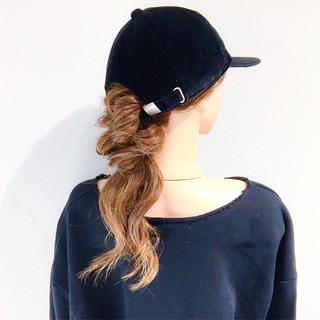 ヘアアレンジ 愛され アウトドア フェミニン ヘアスタイルや髪型の写真・画像 ヘアスタイルや髪型の写真・画像