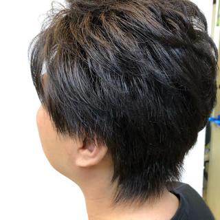 メンズカラー フェミニン メンズカット メンズ ヘアスタイルや髪型の写真・画像
