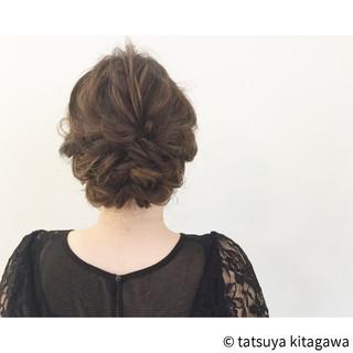 ハイライト ヘアアレンジ 花嫁 エレガント ヘアスタイルや髪型の写真・画像