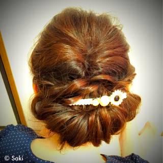 ガーリー フェミニン ゆるふわ セミロング ヘアスタイルや髪型の写真・画像 ヘアスタイルや髪型の写真・画像