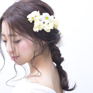 こなれ感 結婚式 アンニュイ 色気 ヘアスタイルや髪型の写真・画像