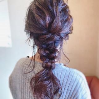 簡単ヘアアレンジ フェミニン お呼ばれ 結婚式 ヘアスタイルや髪型の写真・画像 ヘアスタイルや髪型の写真・画像
