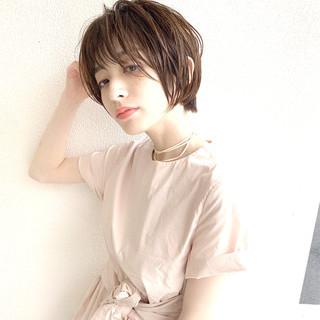 小顔ショート ショート 本田翼 ショートボブ ヘアスタイルや髪型の写真・画像