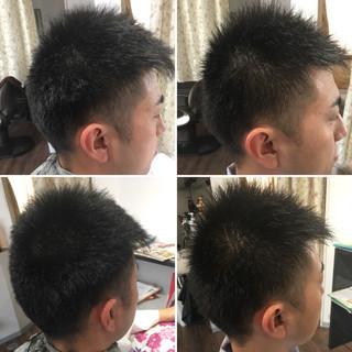 モテ髪 ショート 坊主 ストリート ヘアスタイルや髪型の写真・画像