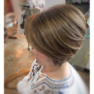フェミニン 抜け感 上品 ショート ヘアスタイルや髪型の写真・画像 ヘアスタイルや髪型の写真・画像