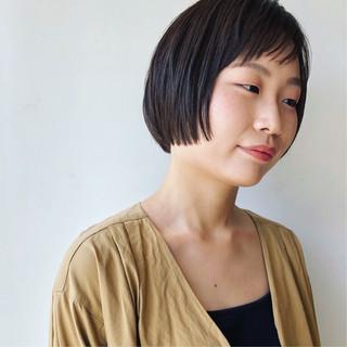石橋裕美子さんのヘアスナップ