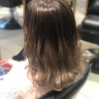 グラデーションカラー 外国人風カラー ナチュラル ボブ ヘアスタイルや髪型の写真・画像 ヘアスタイルや髪型の写真・画像