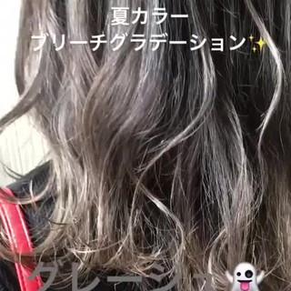 透明感 大人かわいい ミディアム 渋谷系 ヘアスタイルや髪型の写真・画像