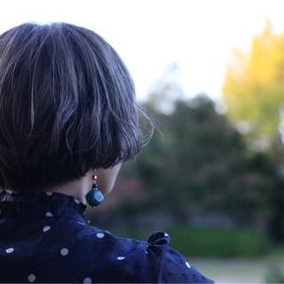 アッシュグレー グレー ストリート グレージュ ヘアスタイルや髪型の写真・画像