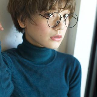 ストリート 外国人風カラー 大人かわいい ショート ヘアスタイルや髪型の写真・画像 ヘアスタイルや髪型の写真・画像
