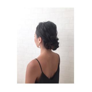 ロング ショート 簡単ヘアアレンジ 大人女子 ヘアスタイルや髪型の写真・画像