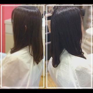 髪質改善 ナチュラル 髪質改善カラー 社会人の味方 ヘアスタイルや髪型の写真・画像