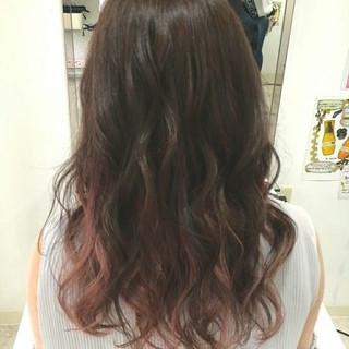 ピンク ナチュラル デート 女子会 ヘアスタイルや髪型の写真・画像