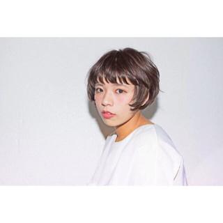 色気 ピュア ボブ ストリート ヘアスタイルや髪型の写真・画像