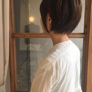 かっこいい ショートボブ モード ナチュラル ヘアスタイルや髪型の写真・画像 ヘアスタイルや髪型の写真・画像