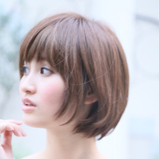 大人かわいい 小顔 ナチュラル トレンド ヘアスタイルや髪型の写真・画像
