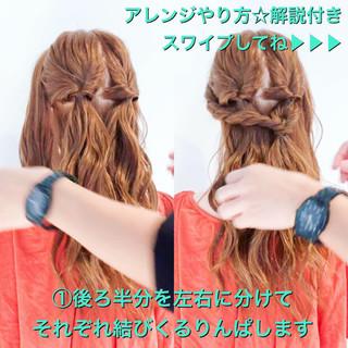 ねじり エレガント 上品 簡単ヘアアレンジ ヘアスタイルや髪型の写真・画像
