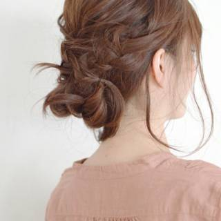 簡単ヘアアレンジ 愛され モテ髪 ヘアアレンジ ヘアスタイルや髪型の写真・画像