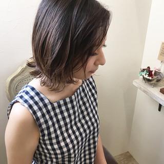外国人風カラー ハイライト ナチュラル レイヤーカット ヘアスタイルや髪型の写真・画像