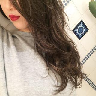デート セミロング ヘアアレンジ オフィス ヘアスタイルや髪型の写真・画像 ヘアスタイルや髪型の写真・画像