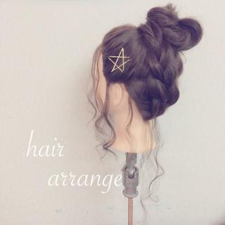 大人かわいい ヘアアレンジ ロング ショート ヘアスタイルや髪型の写真・画像