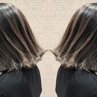 ボブ 外国人風 ストリート デート ヘアスタイルや髪型の写真・画像