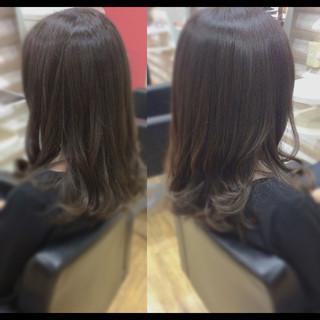ロング 髪質改善 ヘアケア ナチュラル ヘアスタイルや髪型の写真・画像