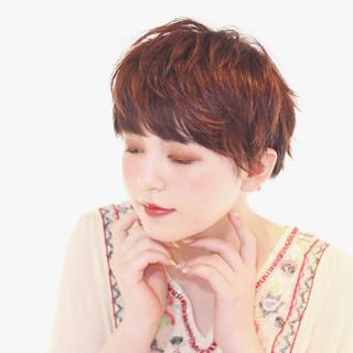 耳かけ エレガント 夏 上品 ヘアスタイルや髪型の写真・画像