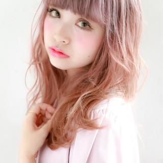 おフェロ かわいい ダブルカラー 透明感 ヘアスタイルや髪型の写真・画像