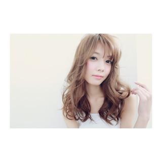 アッシュ フェミニン ゆるふわ 簡単ヘアアレンジ ヘアスタイルや髪型の写真・画像