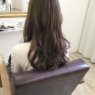 秋 ハイライト 透明感 ロング ヘアスタイルや髪型の写真・画像 ヘアスタイルや髪型の写真・画像