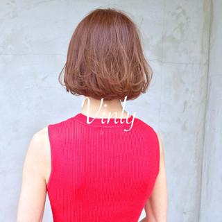 簡単ヘアアレンジ ヘアアレンジ ボブ オフィス ヘアスタイルや髪型の写真・画像