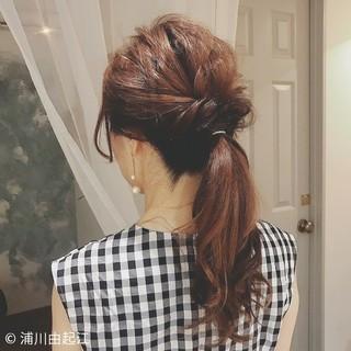 デート ストリート ロング 大人かわいい ヘアスタイルや髪型の写真・画像