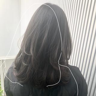 髪質改善 ナチュラル 前髪 縮毛矯正 ヘアスタイルや髪型の写真・画像