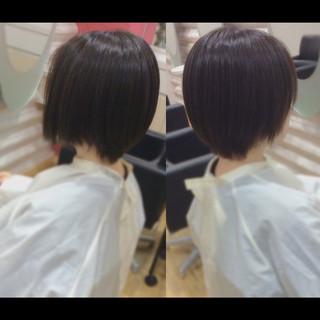 艶髪 ショートヘア ヘアケア ショート ヘアスタイルや髪型の写真・画像