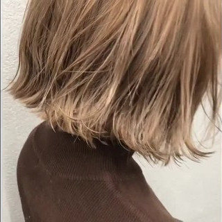 透明感カラー ナチュラル ミルクティーベージュ ダブルカラー ヘアスタイルや髪型の写真・画像