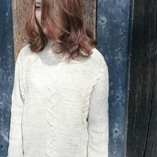 艶髪 ミディアム 女子力 エフォートレス ヘアスタイルや髪型の写真・画像 ヘアスタイルや髪型の写真・画像