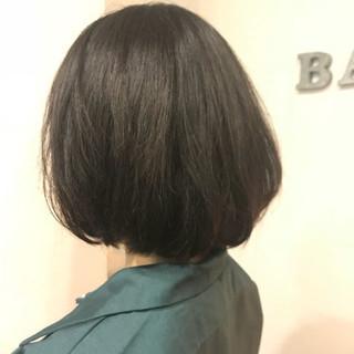 抜け感 大人女子 ナチュラル ボブ ヘアスタイルや髪型の写真・画像